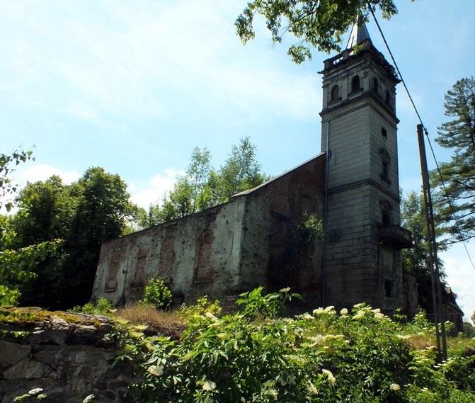 Ruiny pałacu w Barcinku, fot. Sz. Wrzesiński /Odkrywca