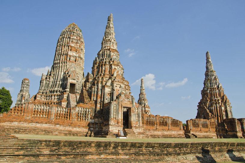 Ruiny świątyni Wat Chaiwatthanaram, Ayutthaya, Tajlandia /©123RF/PICSEL