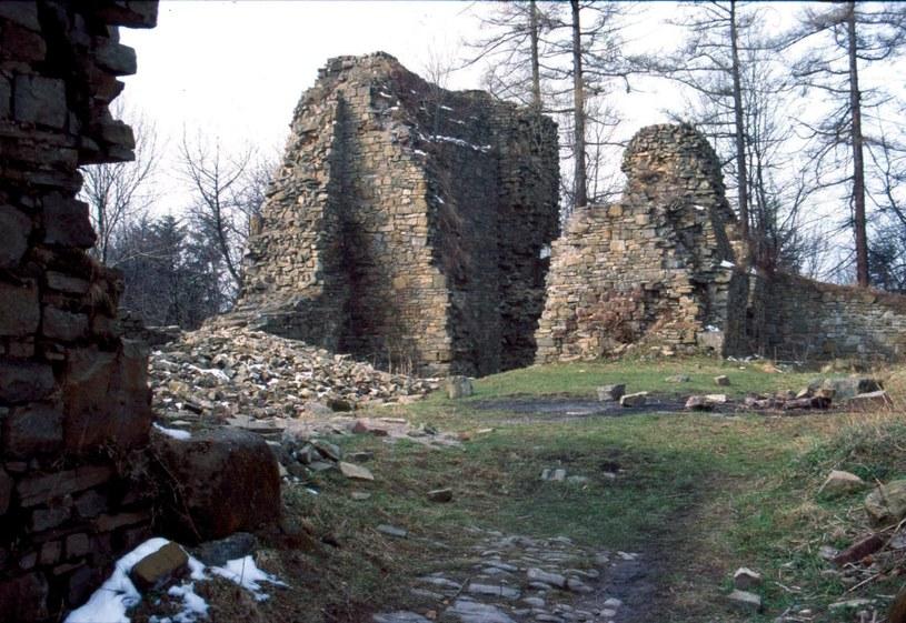 Ruiny zamku Kazimierza Wielkiego, Lanckorona /Krzysztof Chojnacki /East News