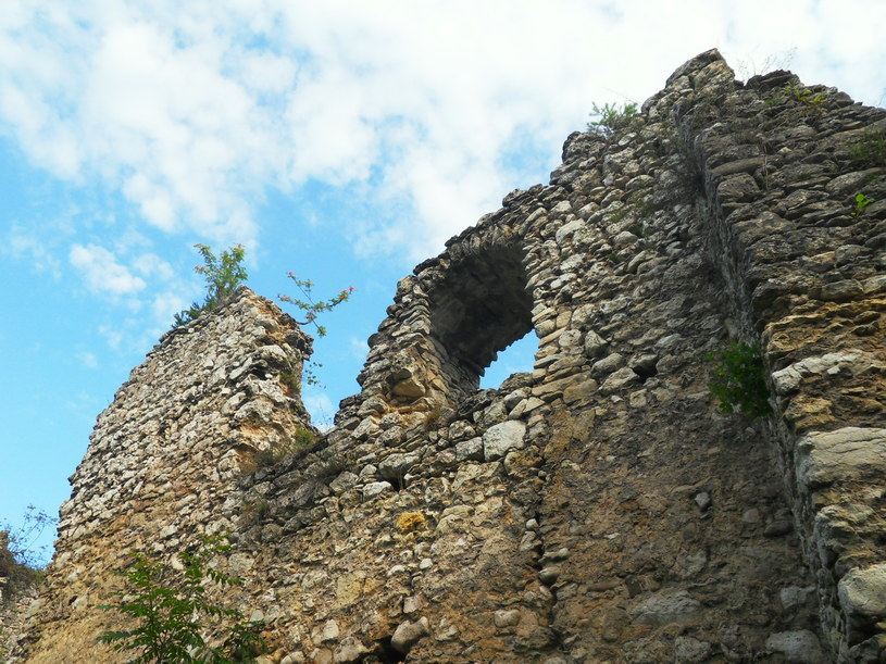 Ruiny zamku w Bydlinie/fot. Ania Gaj /Styl.pl