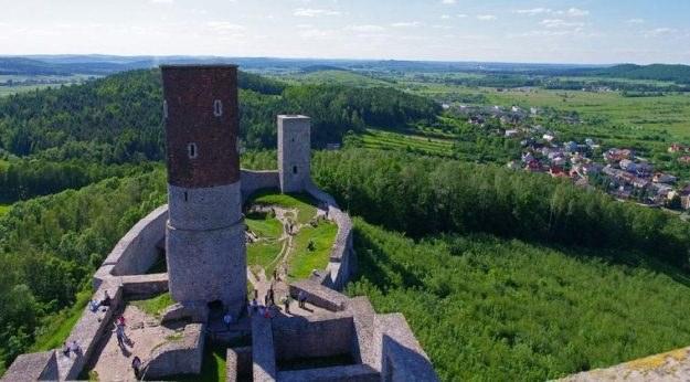 Ruiny zamku w Chęcinach, fot. Marek Bazak /East News