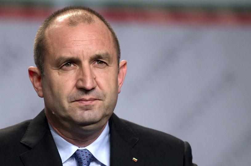 Rumen Radew jest znany z sympatii prorosyjskich /AFP