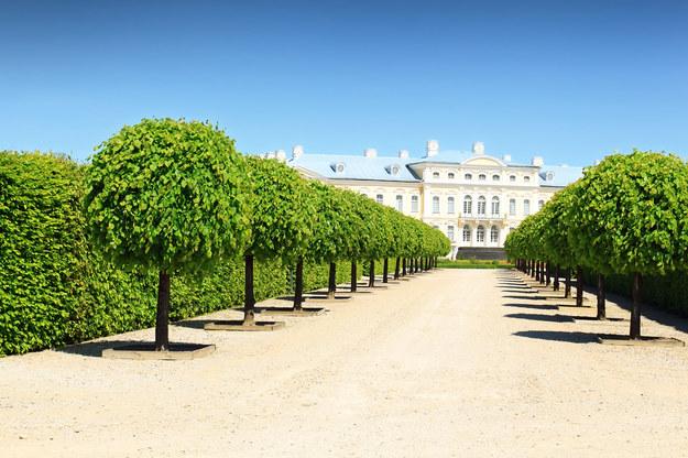 Rundalle - pałac na Łotwie /123/RF PICSEL