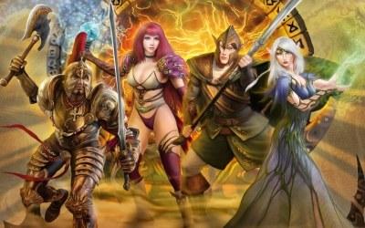 Runes of Magic - motyw graficzny /Informacja prasowa