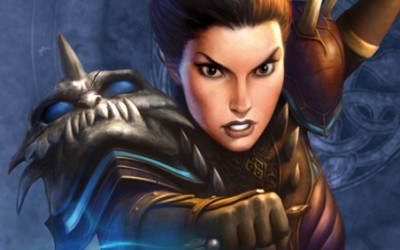 Runes of Magic: The Elder Kigdoms - fragment okładki z gry /Informacja prasowa
