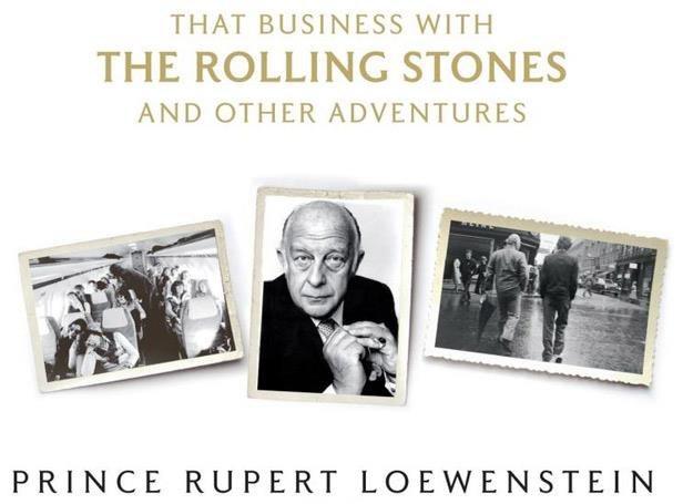 Rupert Loewenstein na okładce swojej autobiografii /