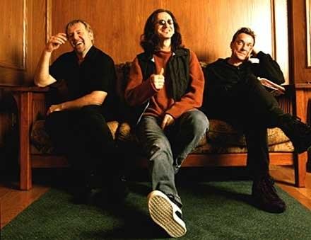 Rush (Neil Peart z prawej) /
