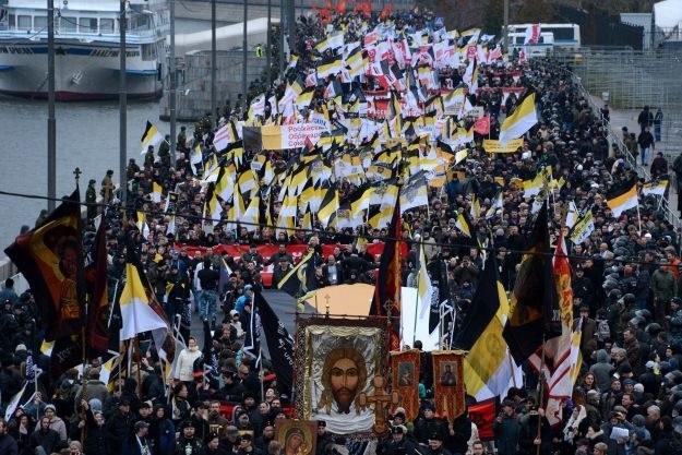 """""""Ruski Marsz"""" /AFP"""