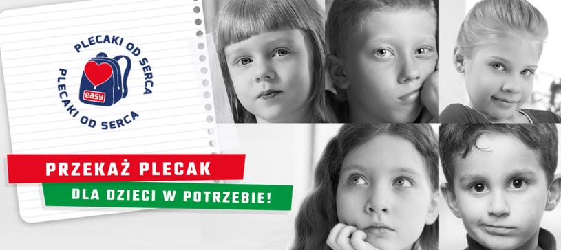 """Rusza nowa odsłona akcja """"Plecaki od serca"""" /materiały prasowe"""