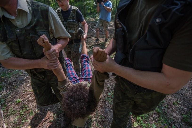 Ruszył proces osób obwinionych wz. z blokowaniem wycinki w Puszczy Białowieskiej /Paweł Głogowski /Reporter