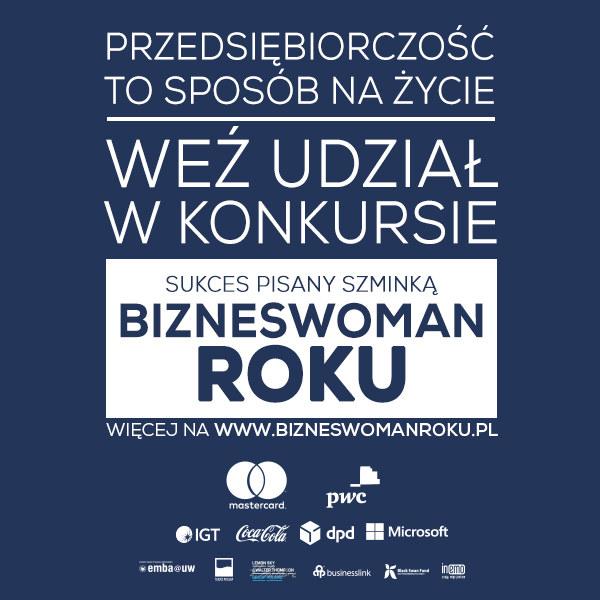 Ruszyła VIII edycja konkursu Bizneswoman Roku /materiały prasowe