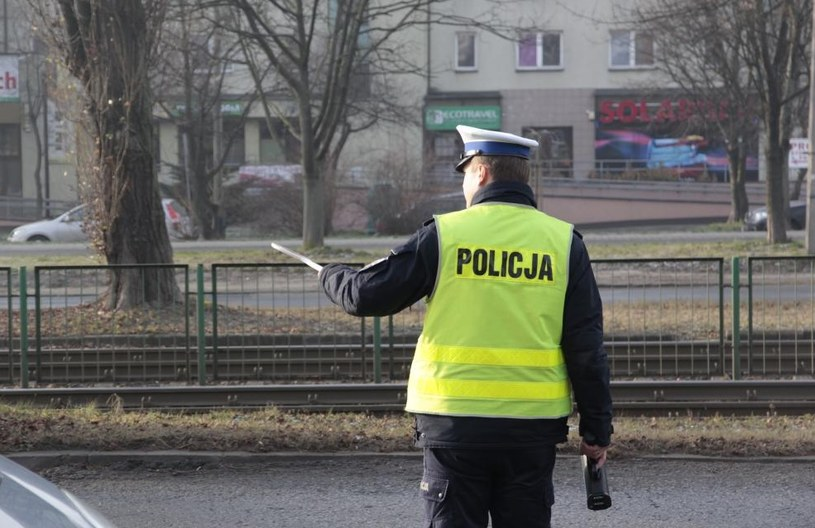 Rutynowa kontrola drogowa w Krakowie /Policja