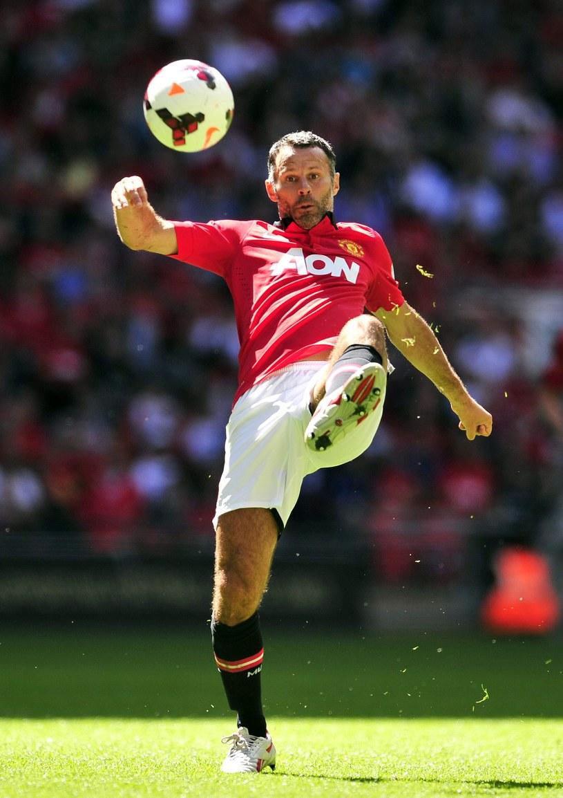Ryan Giggs z Manchesteru United /AFP