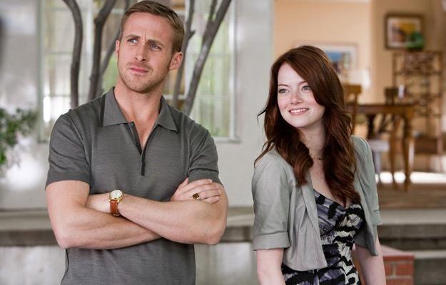 """Ryan Gosling i Emma Stone w filmie """"Kocha, lubi, szanuje"""" /materiały dystrybutora"""