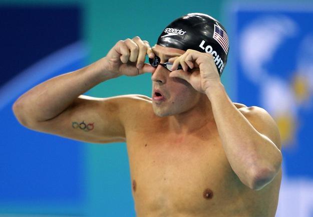 Ryan Lochte ustanowił kolejny rekord świata /AFP