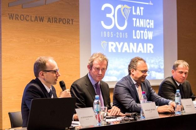 Ryanair ogłosił dzisiaj wielką inwestycję we Wrocławiu /&nbsp