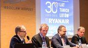 Ryanair ogłosił wielką inwestycję we Wrocławiu