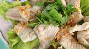 Ryba gotowana na parze z ziemniakami