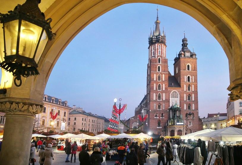 Rynek Główny w Krakowie /Damian Klamka /East News