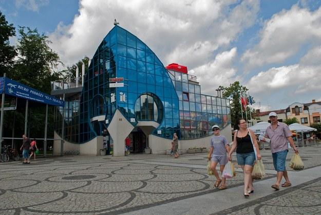 Rynek w Augustowie/fot. Michał Kość /Reporter
