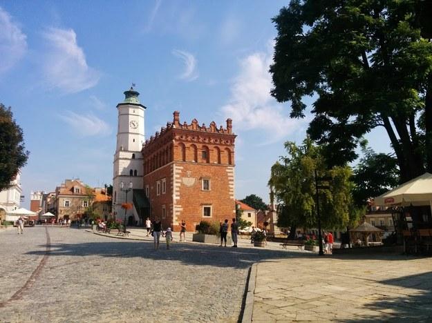 Rynek w Sandomierzu/fot. Dorota Bugajska-Marzec /INTERIA.PL