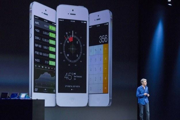 Rynkowy debiut iOS 7 wraz z kolejnym iPhonem /AFP