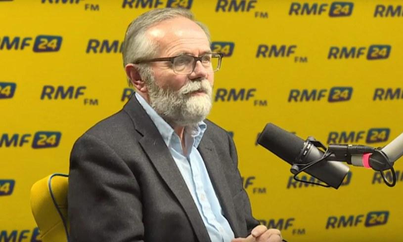 Ryszard Bugaj w Popołudniowej rozmowie w RMF FM /RMF