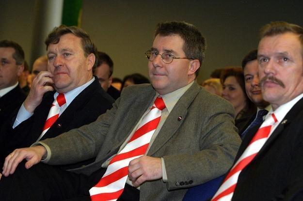 Ryszard Czarnecki w Samoobronie, fot. Maciej Macierzyński /Reporter