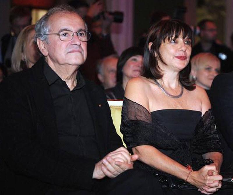 Ryszard Horowitz i Anna Bogusz są małżeństwem od 1974 roku  /Piotr Fotek /Reporter