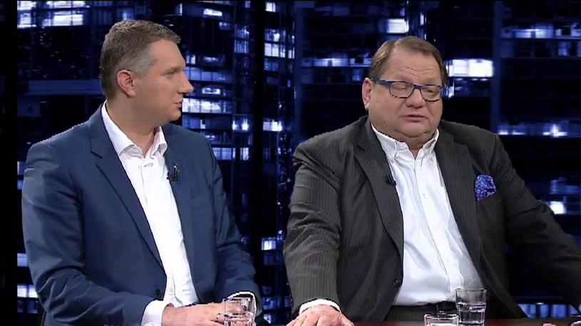 Ryszard Kalisz jest zdania, że nigdy nie było żadnej sprawy państwa Kwaśniewskich /TVN24/x-news
