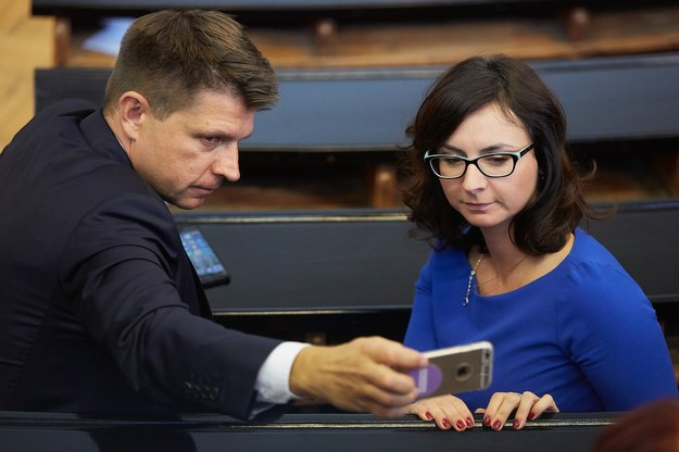 Ryszard Petru i Kamila Gasiuk-Pihowicz /Hubert Mathis /Reporter
