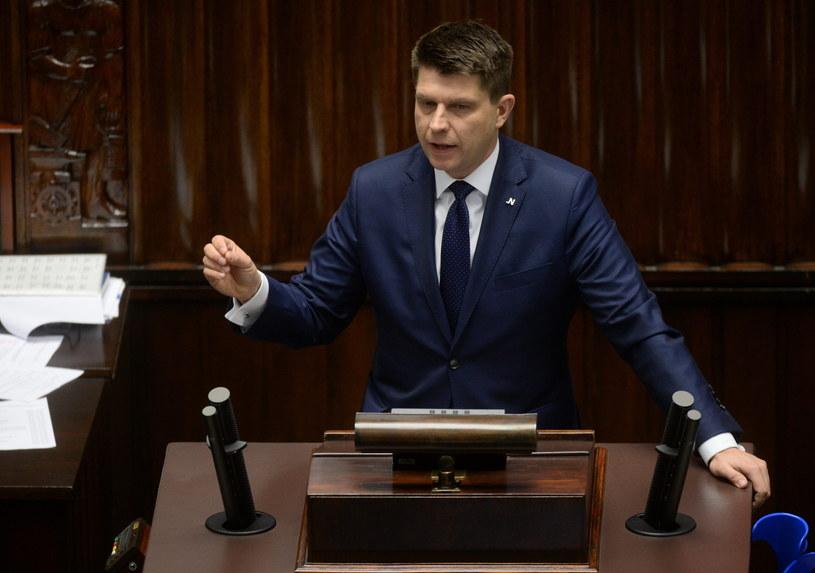Ryszard Petru, lider Nowoczesnej /Bartłomiej Zborowski /PAP