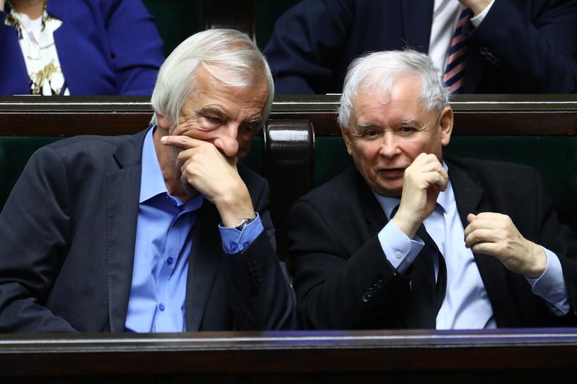 Ryszard Terlecki i Jarosław Kaczyński /Stanisław Kowalczuk /East News