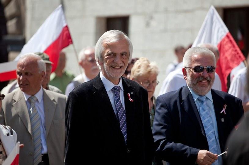 Ryszard Terlecki podczas zeszłorocznych obchodów /Witold Ziomek /Reporter