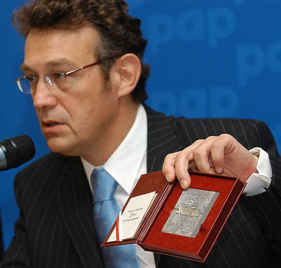 Ryszrad Schnepf ambasador RP w Waszyngtonie /Andrzej Rybczyński  /PAP