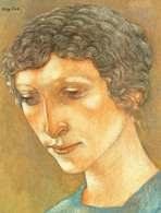 """Rytm"""", Eugeniusz Zak, Głowa kobieca,1923 /Encyklopedia Internautica"""
