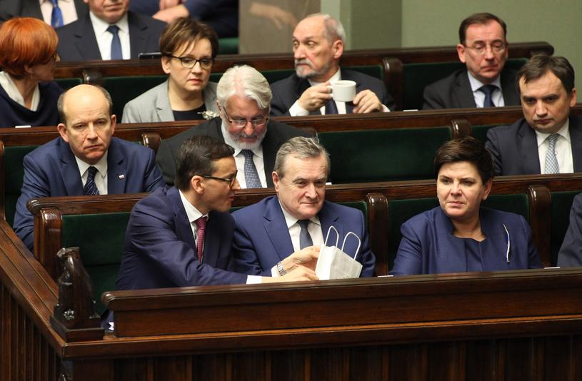 Rząd Beaty Szydło /Stefan Maszewski /Reporter