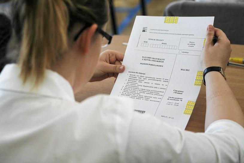 Rząd pracuje nad zmianami w systemie egzaminów państwowych (zdj. ilustracyjne) /agnieszka sadowska /