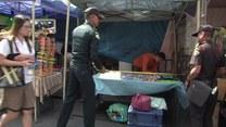 Rząd walczy z ulicznymi handlarzami w Bangkoku