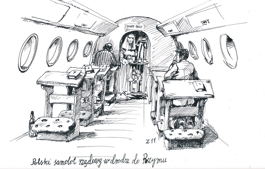Rządowym samolotem do Watykanu