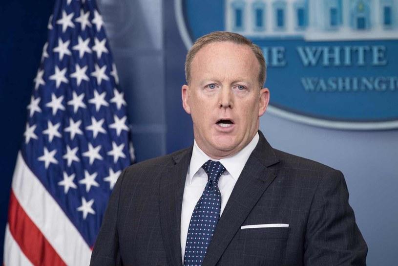 Rzecznik Białego Domu Sean Spicer /AFP