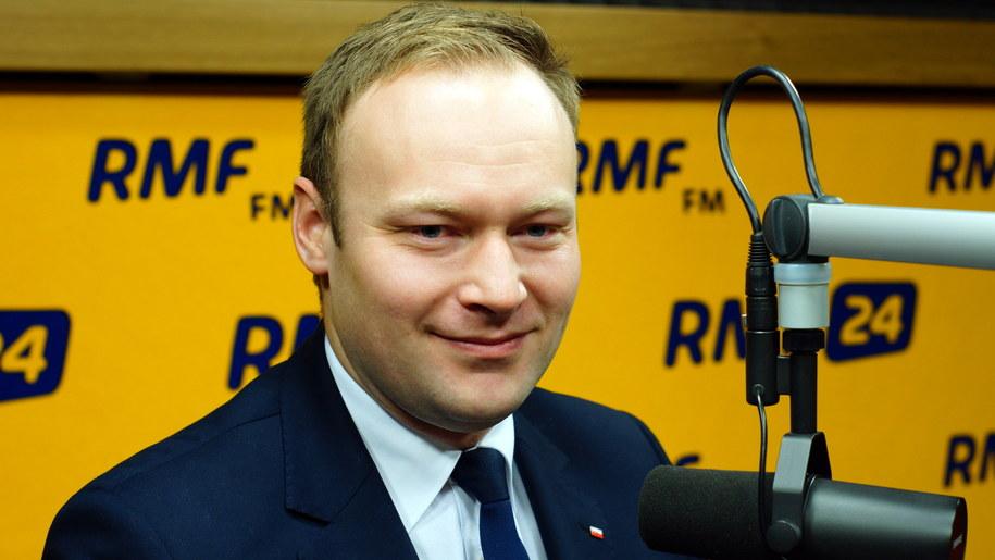 Rzecznik PiS Marcin Mastalerek /Michał Dukaczewski /Archiwum RMF FM