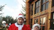 Rzecznik Praw Dziecka Marek Michalak (L) i Henryka Krzywonos-Strycharska (P) podczas zjazdu Mikołajów