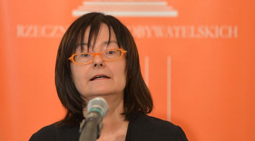 Rzecznik Praw Obywatelskich prof. Irena Lipowicz. /Włodzimierz Wasyluk /Reporter