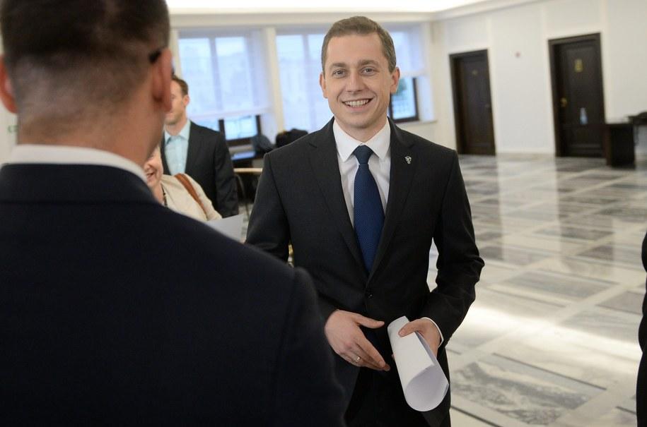Rzecznik rządu Cezary Tomczyk /PAP/Bartłomiej Zborowski /PAP