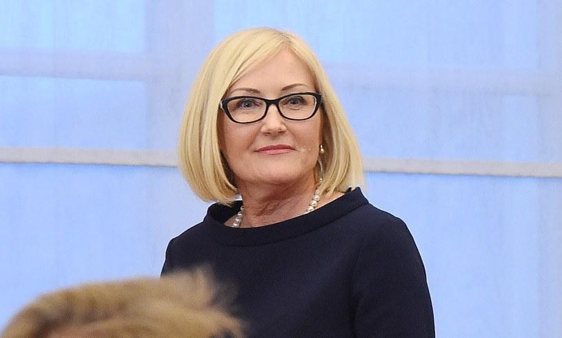 Rzecznik rządu Joanna Kopcińska /Radek Pietruszka /PAP