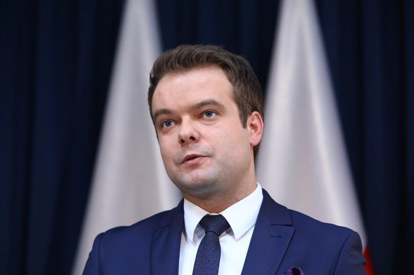 Rzecznik rządu Rafał Bochenek /STANISLAW KOWALCZUK /East News