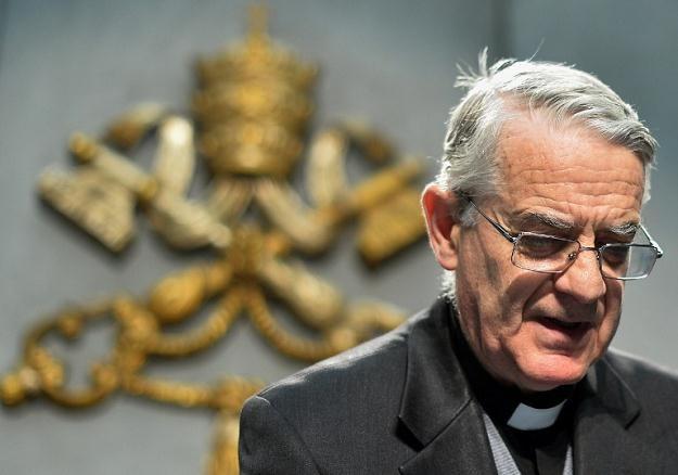 Rzecznik Watykanu ksiądz Federico Lombardi /AFP