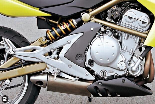 Rzędowy silnik Kawasaki / Kliknij /Motocykl