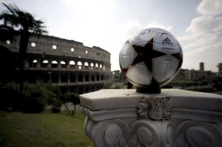 Rzym przykłada dużą wage do promocji finału Ligi Mistrzów. /AFP